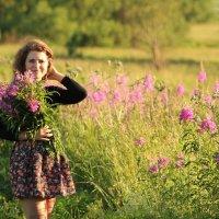 Во поле девчина стояла... :: Анна Бойцова