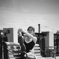 черно-белая тренировка :: Алёна Горбылёва