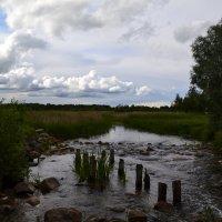 По камушкам речка бежит.. :: zoja
