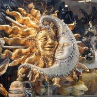 Солнечный месяц :: Сергей Шруба