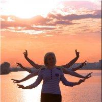 девичник на озере :: Yulia Golub
