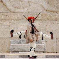 Смена караула у Парламента Греции :: Наталия Григорьева