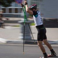 Соревнования третьего этапа Кубка России  по лыжероллерам :: Petrovich