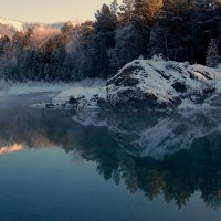 Голубые озера (Горный Алтай) :: Михаил Кузнецов