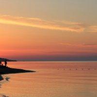 Над розовым морем... :: Наталья Лунева