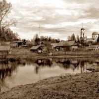 Деревенский пейзаж. :: Екатерина Артамонова