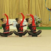 Командное выступление гимнасток. :: Вячеслав