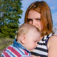 малыш и мама :: надежда