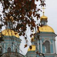 Купола Никольского собора :: Наталья