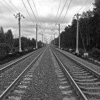 Железнодорожная симметрия. :: Сергей Фомичев