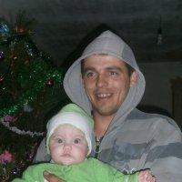 Папа и доченька :: Анастасия Ляшко