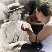 Разница в столетье не помеха общим темам... :: Ирина Данилова