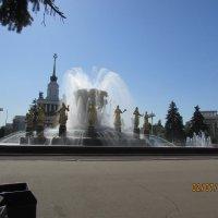 """Фонтан """" Каменный цветок"""" на ВДНХ :: раиса Орловская"""