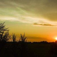 Июльский закат :: юрий Амосов