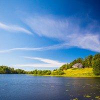 Домик на озере :: Николай Леммер