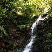 Водопад Лазный Карпаты :: Владимир Хижко