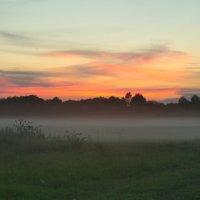 закат с туманом :: Азат Мустафин