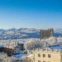 Вид из окна-зима :: Юрий Губков