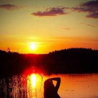 На озере :: Игорь Кузич