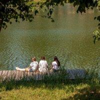 Три подружки у озера :: Игорь Вишняков