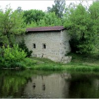 Псков,река Пскова :: Татьяна Осипова(Deni2048)