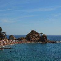 Тосса-де-Мар. Вид на пляж Mar Menuda. :: Анатолий Грачев
