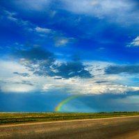 кусочек радуги :: Лена Арефьева