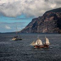 Корабли в океане :: Кристин Чаговец