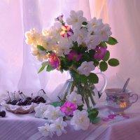 Утро начинается с рассвета... :: Валентина Колова