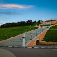 Чкаловская лестница :: Александра Салыжина