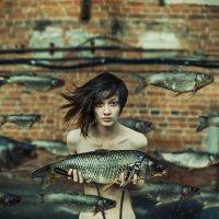 Ты нужна мне как рыбе вода :: Ежъ Осипов