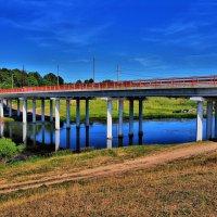 Искусственное сооружение через реку - 4 буквы. :: Андрей Куприянов