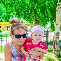 Мама и дочка :: Ирина Vovk