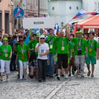 Парад хоров в Риге 2014 :: Диана Матисоне