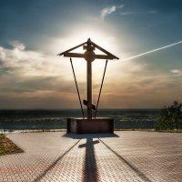 Крест над Окой :: Sergey Komarov