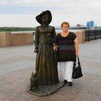 Дама с собачкой. :: Александр Владимирович Никитенко