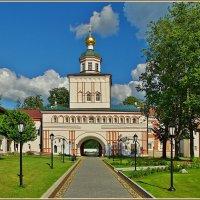 в Иверском монастыре :: Дмитрий Анцыферов