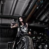 Девушка&Harley :: Яэль (Юлия Ситохова)
