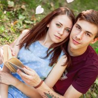 Миша и Настя :: Карина Молокоедова