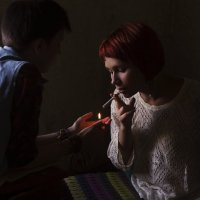 smoke :: Екатерина Быкова