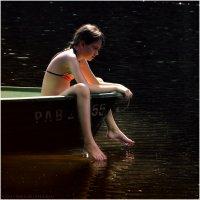 Девочка в лодке :: Станислав Лебединский