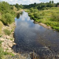 На реке Саблинка (этюд 3) :: Константин Жирнов