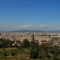 Взгляд на Барселону. :: Анатолий Грачев