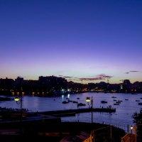 Ночь над бухтой :: Сергей Баклановский