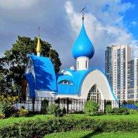 Церковь Иоанна Кронштадтского :: Людмила Тамкун
