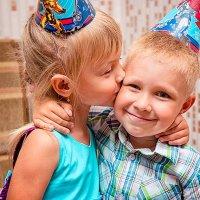 Поцелуй от любимой подружки. :: Татьяна Загара