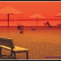 Красный пляж :: Мария Машук Наклейщикова