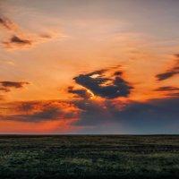 Утро в Казахстанской степи :: Игорь Лариков