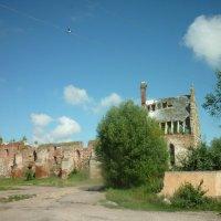 новая жизнь на руинах немецкой кирхи :: Oxi --