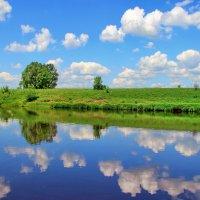 Когда с рекою дружат облака... :: Лесо-Вед (Баранов)